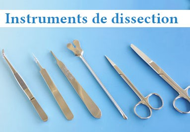 Instruments de dissection